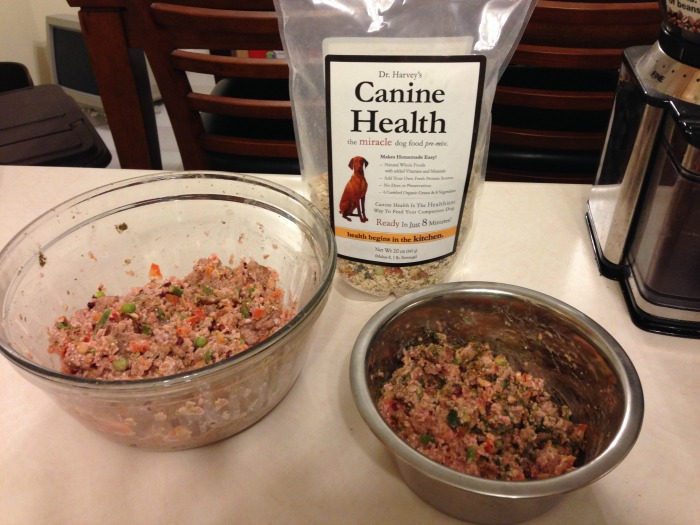 Want to make your own dog food at home that is perfectly balanced & you can add your own protein? See what we think of Dr Harvey's pre-mixes here!
