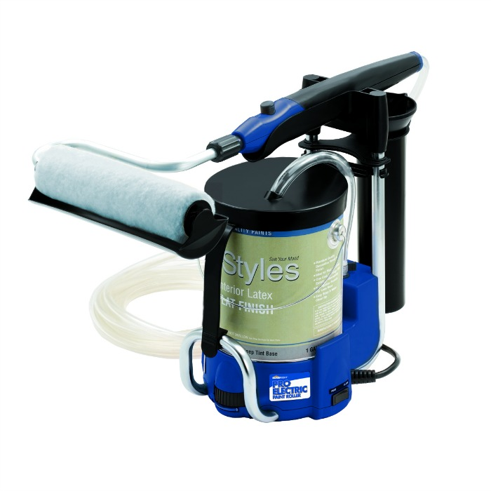 Want to make painting fast & painless? See what we think of the HomeRight Pro Electric Paint Roller here!