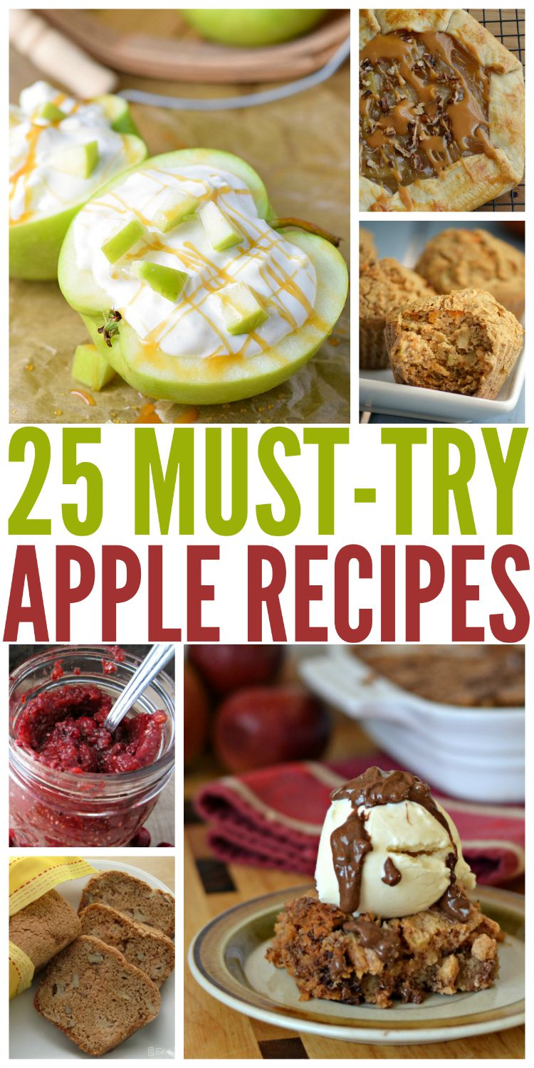 Looking for some delicious apple recipes? Check out our list of 25 Must Try Apple Recipes here!
