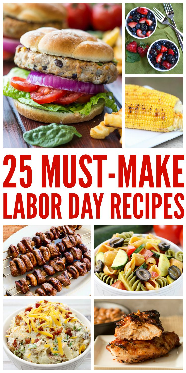 Looking for some delicious recipes for labor day? Check out our 25 Must Make Labor Day Recipes here!