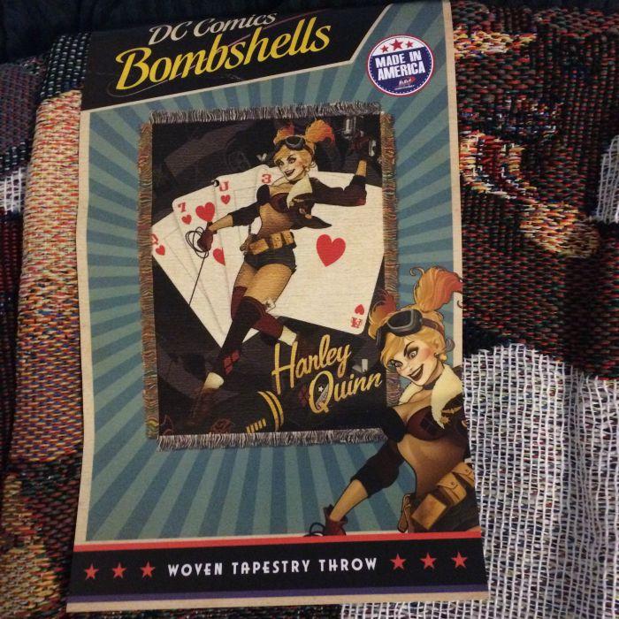 Harley Quinn Blanket 2