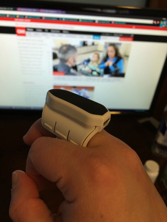 Looking for a way to get more work done on the go? See what we think of the Mycestro Wireless Finger Mouse here!