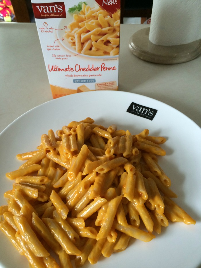 Looking for a delicious, gluten-free pasta meal? See what we think of Van's Simply Delicious pasta & enter to win some of this pasta for yourself!