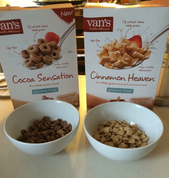 Looking for a yummy new cereal? See what we think of Van's Foods new line of cereals here!