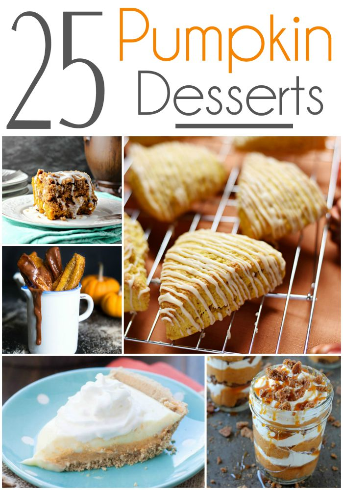 Looking for some delicious pumpkin desserts? Check out our favorite 25 Pumpkin Desserts here!