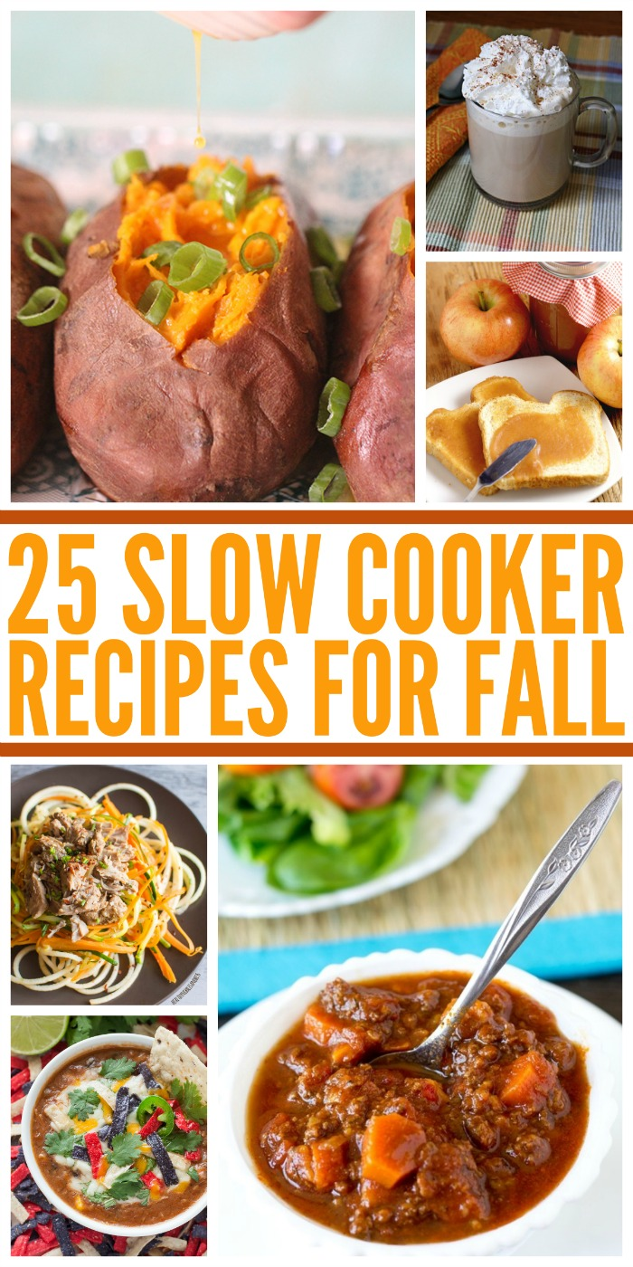 Looking for some fun, new recipes? Check out these awesome 25 fall slow cooker recipes here!