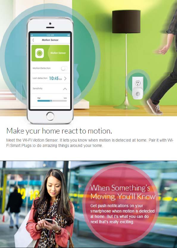 Dlink motion sensor