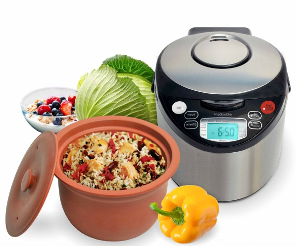 Want to make cooking at home easy and healthier? See what we think of cooking with clay with the VitaClay Smart Organic Multicooker here!