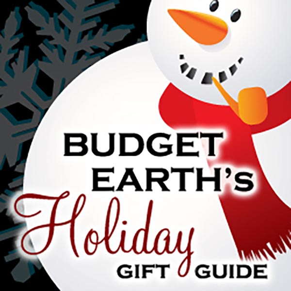 Looking for the perfect gift for a special person or pet in your life? Check out Budget Earth's 2015 Holiday Gift Guide here!