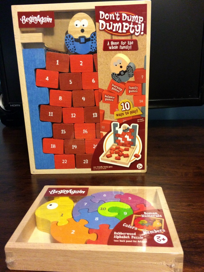 Looking for adorable toys for children of all ages? See what we think of BeginAgain rubberwood toys & games here!