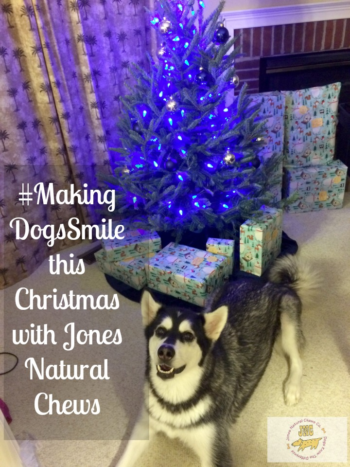 #MakingDogsSmile this Christmas with Jones Natural Chews