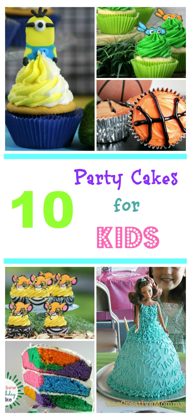 Looking for some cute birthday cake recipes? Check out our list of 10 Party Cakes for Kids here!