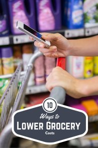 Looking for ways to not only save money on groceries but get money back? Check out our 10 awesome tips on how to lower grocery costs here!