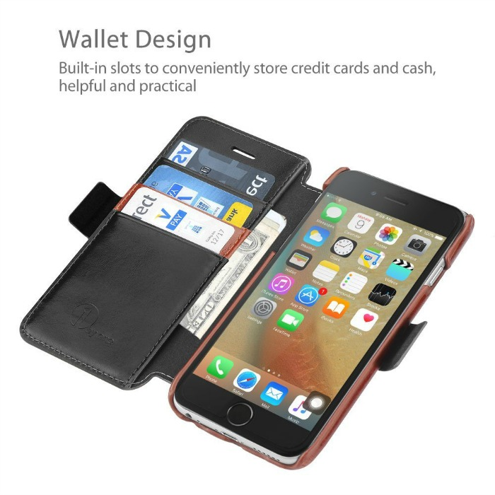 Looking for a quality phone case that can hold credit cards? See what we think of the 1byOne Genuine Leather iPhone Wallet Folio Case with Card Slots here!