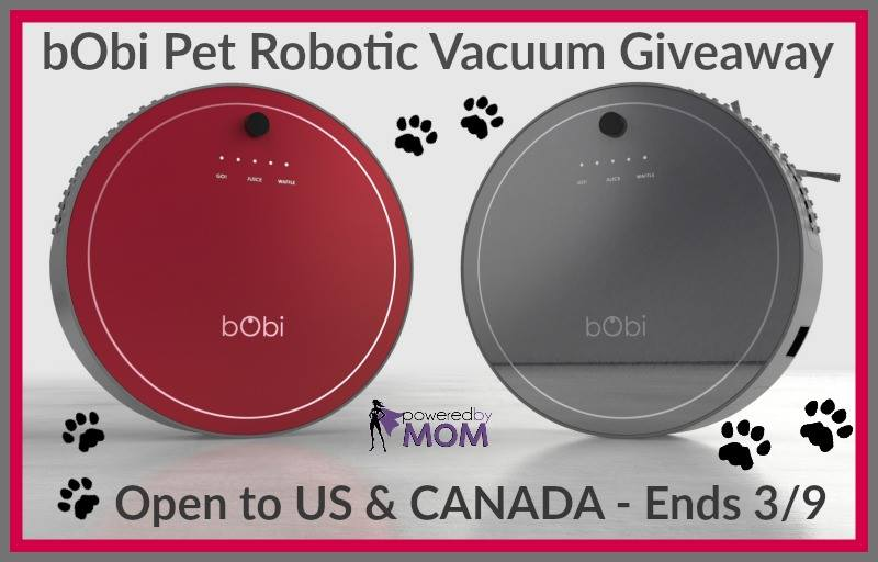 Need a new vacuum? Enter to win a bObi Pet Vacuum here!