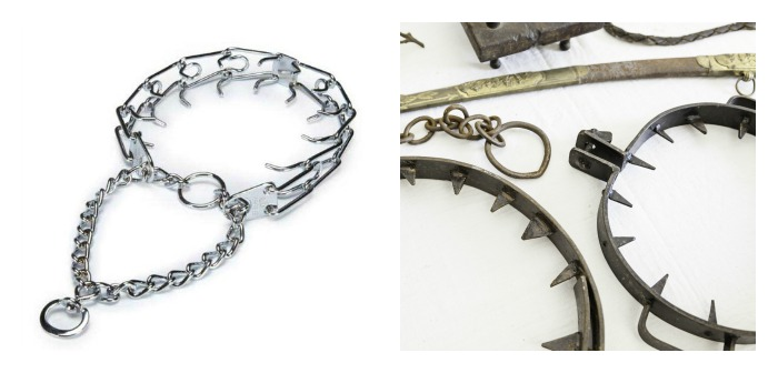 prong collar as torture device