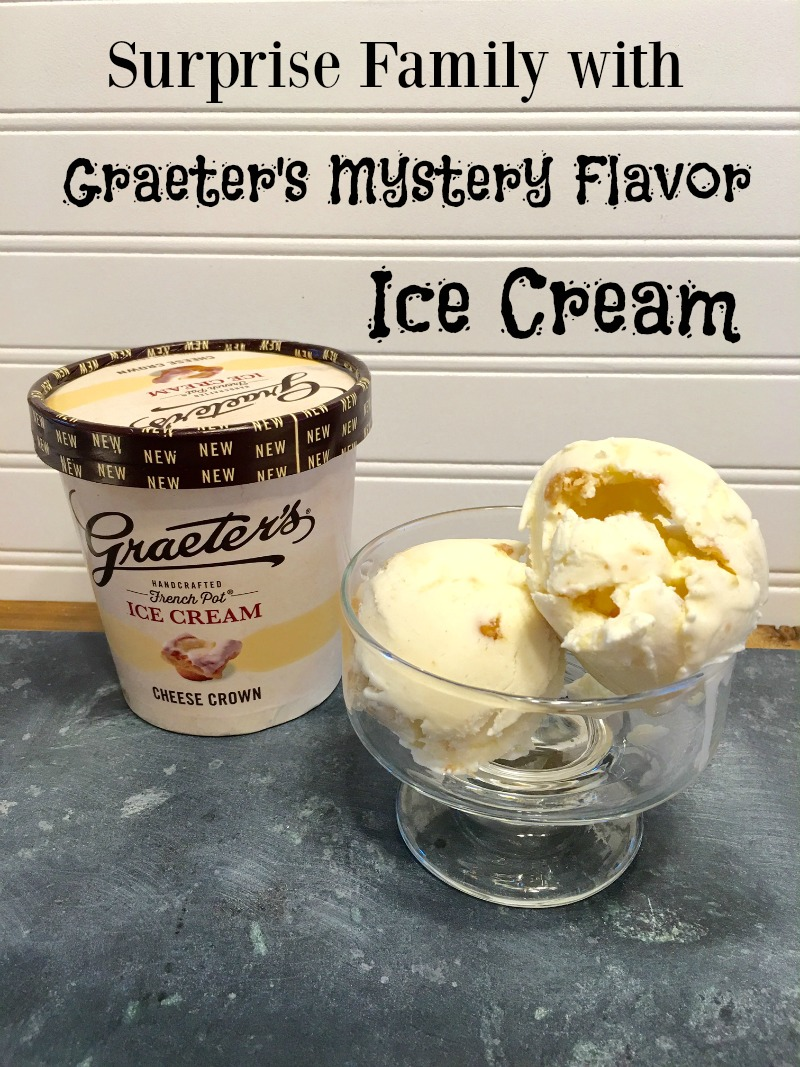 Looking for a delicious ice cream to enjoy with family this spring? See why we love Graeter's new Mystery Flavor - Cheese Crown - here!