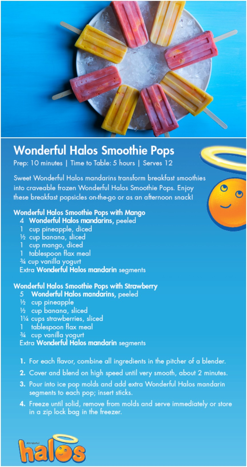 Wonderful Halos Smoothie Pops