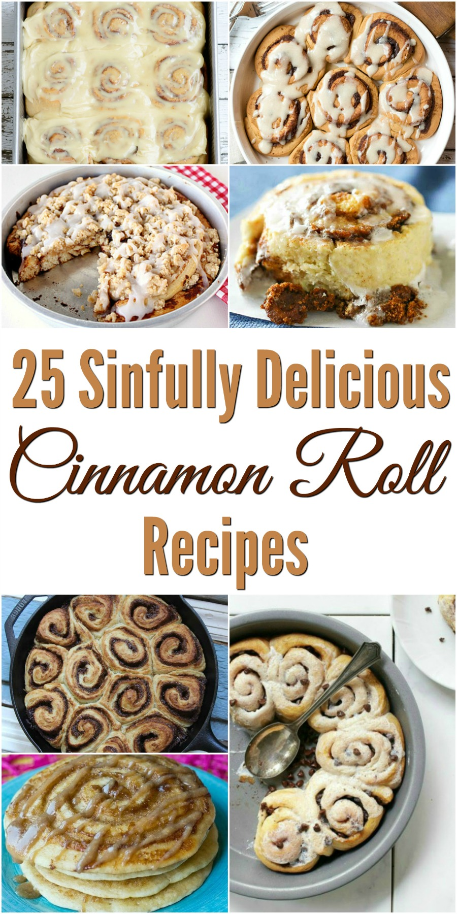 Want to make a delicious homemade breakfast for your family? Check out these 25 Delicious Cinnamon Roll Recipes here!