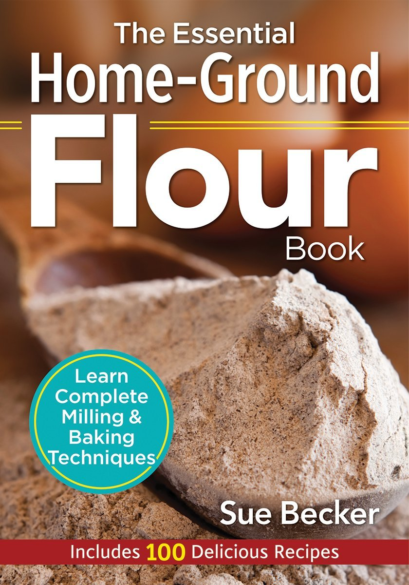 Want to learn about milling your own flour? See what we think of the The Essential Home-Ground Flour Book here!