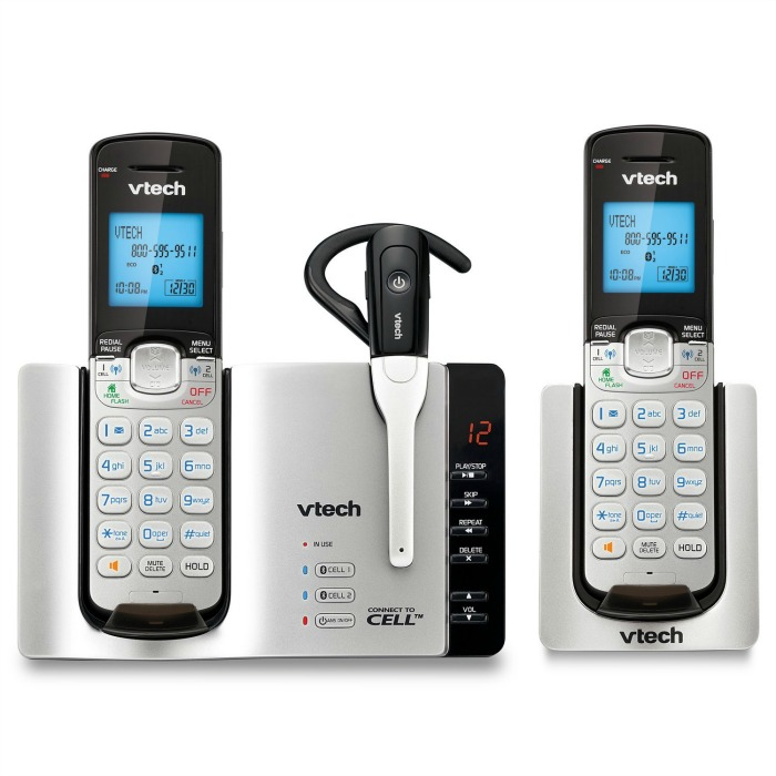 Looking for a phone that will connect your land line & cell phones to one system? See what we think of the VTech DS6671-3 Connect to Cell Phone System