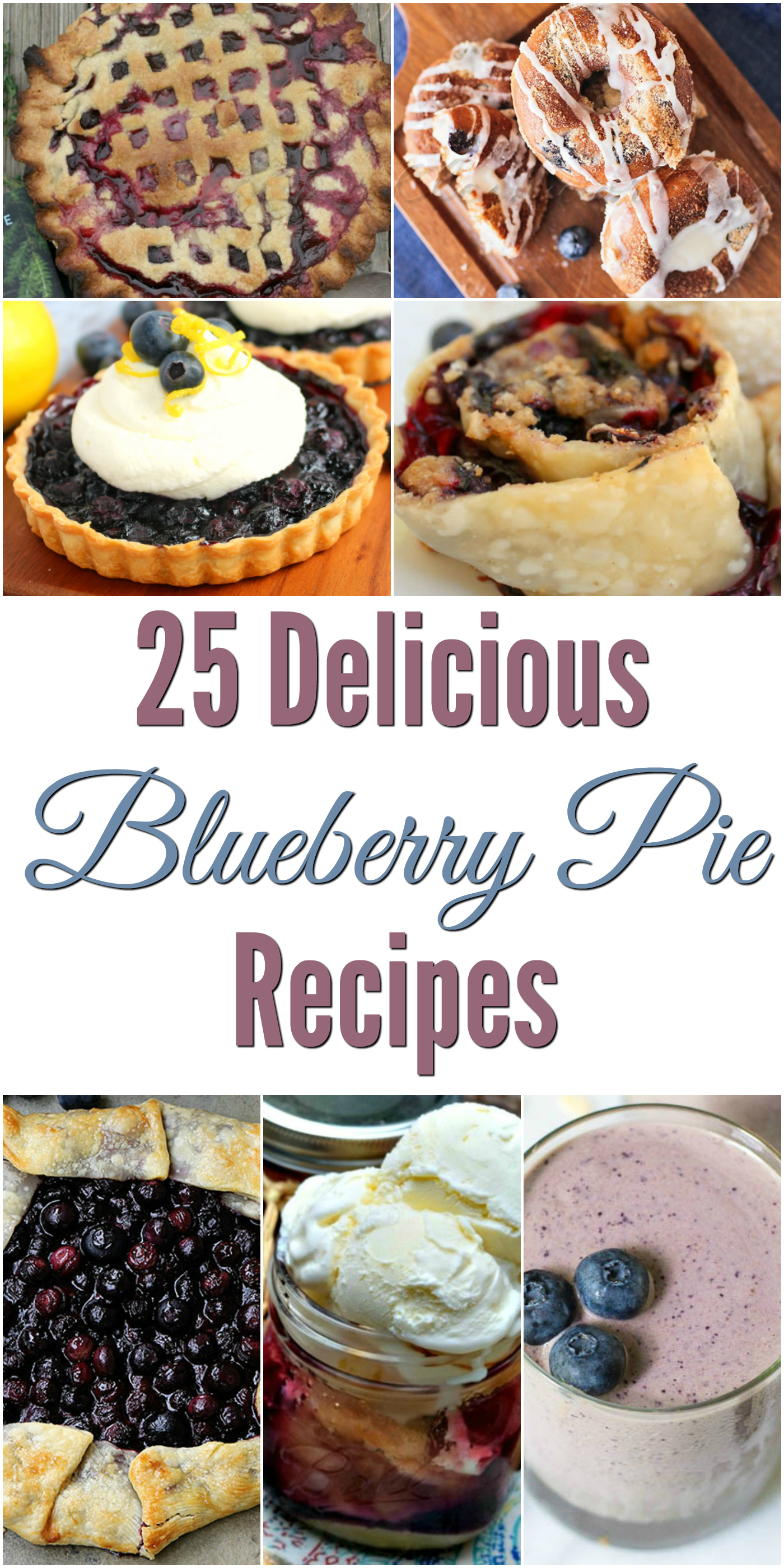 Looking for some delicious blueberry recipes? Check out these 25 Delicious Blueberry Pie Recipes here!