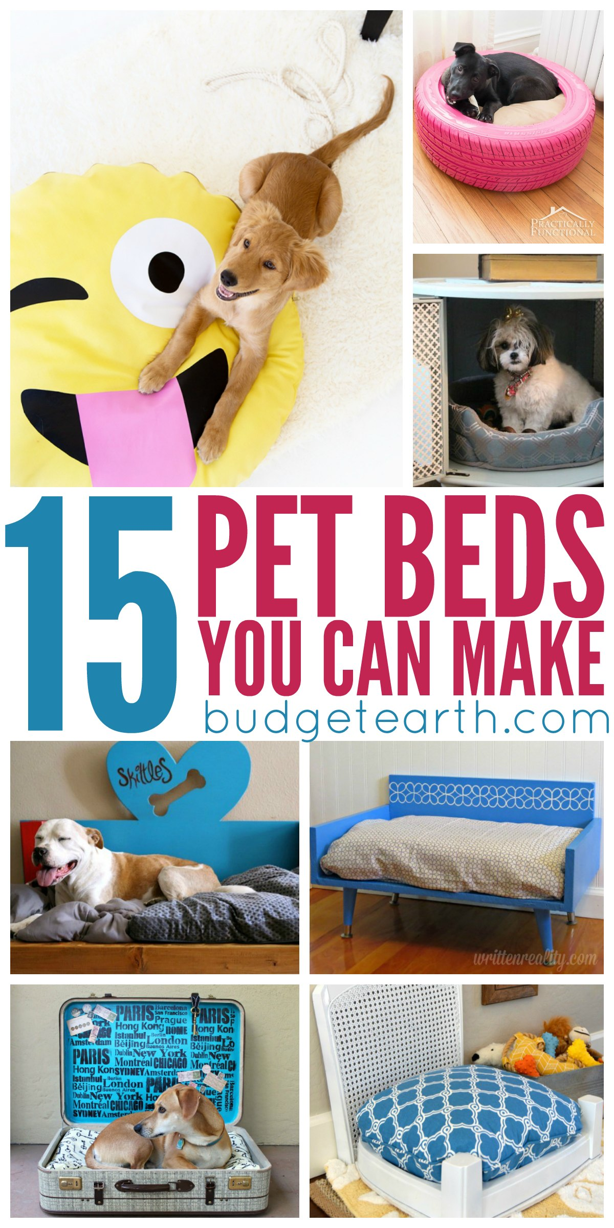 15 Diy Pet Beds Your Can Make At Home Budget Earth