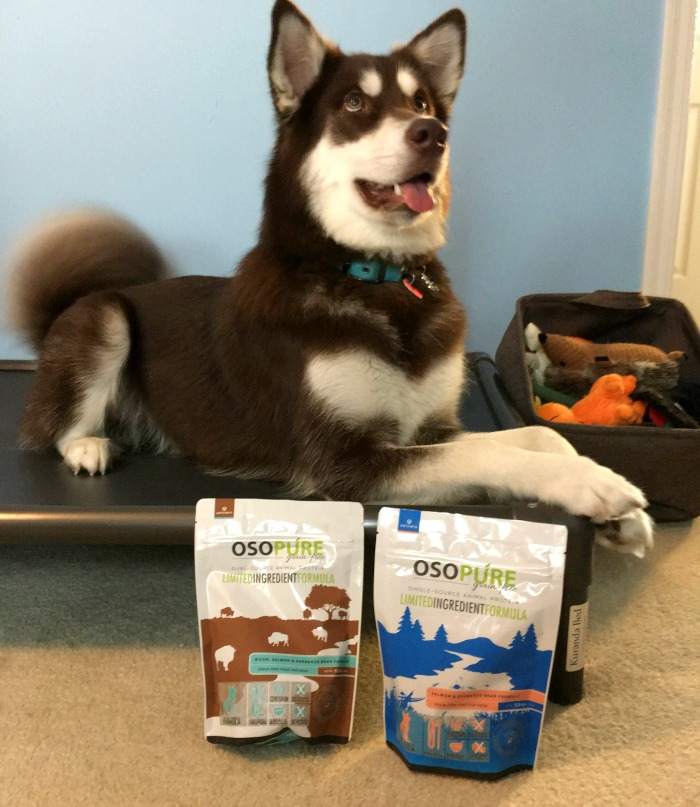 Looking for an all natural dog food? See what our girls think of Artemis's Pet Food's Osopure Dry Food Line here!