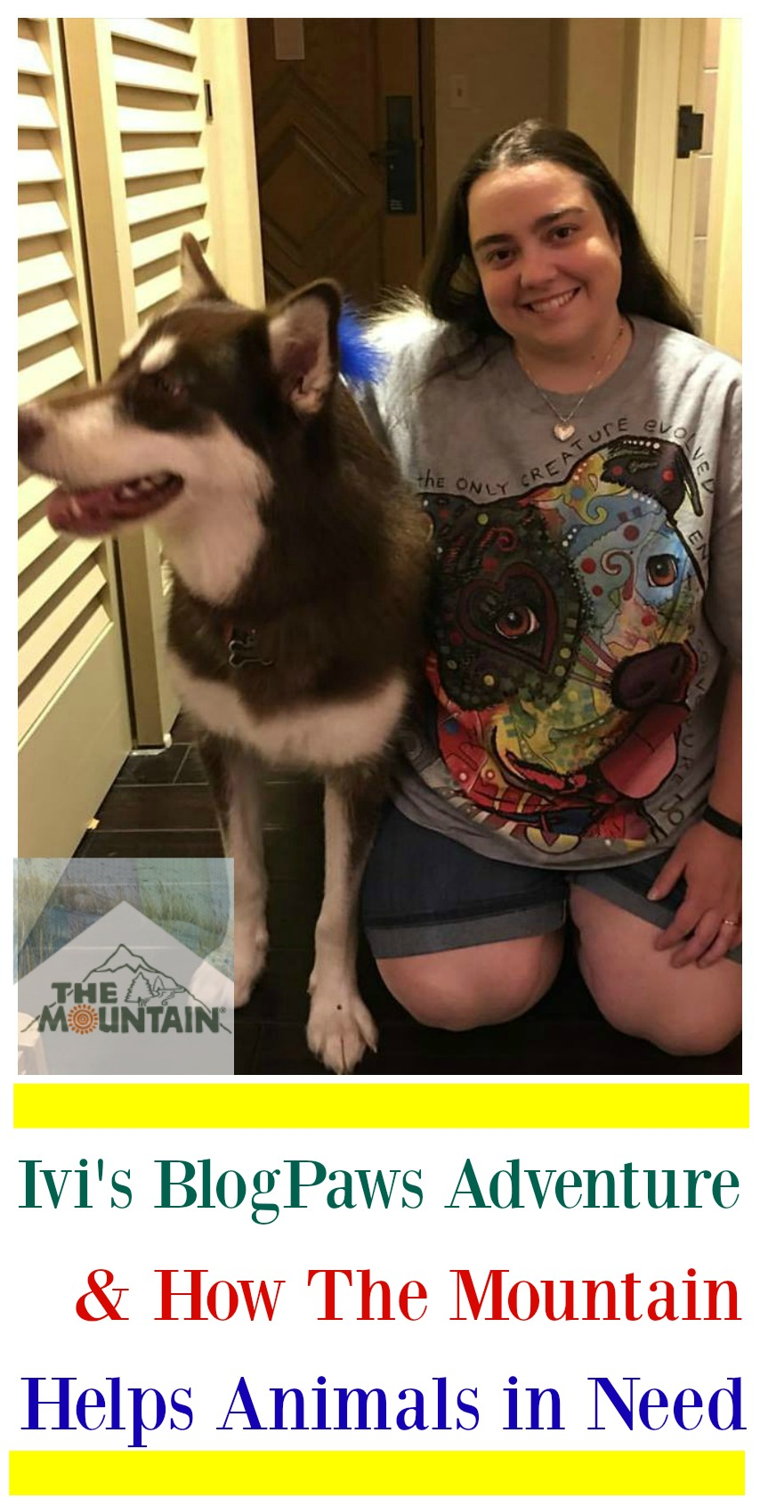 Ivi's #BlogPaws Adventure & How The Mountain Helps Animals in Need