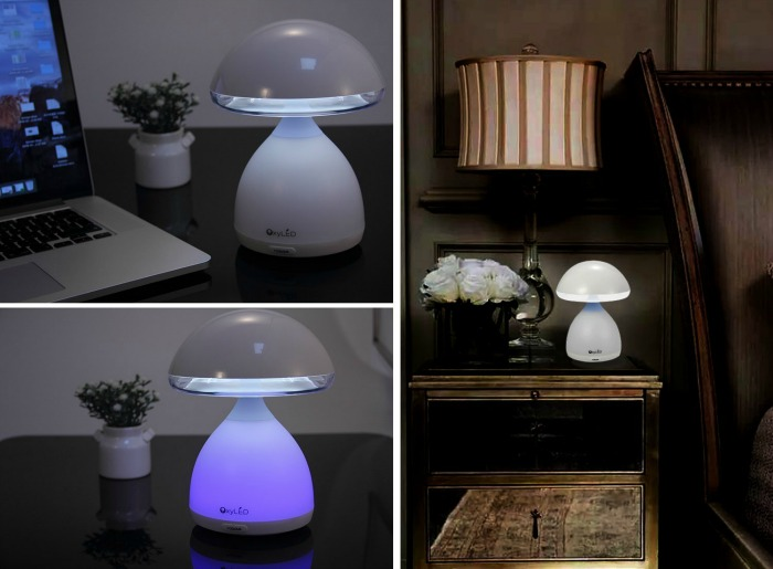 Looking for a cool desk or nightstand light? See what we think of the OxyLED Touch Control LED Mushroom Desk Light here!