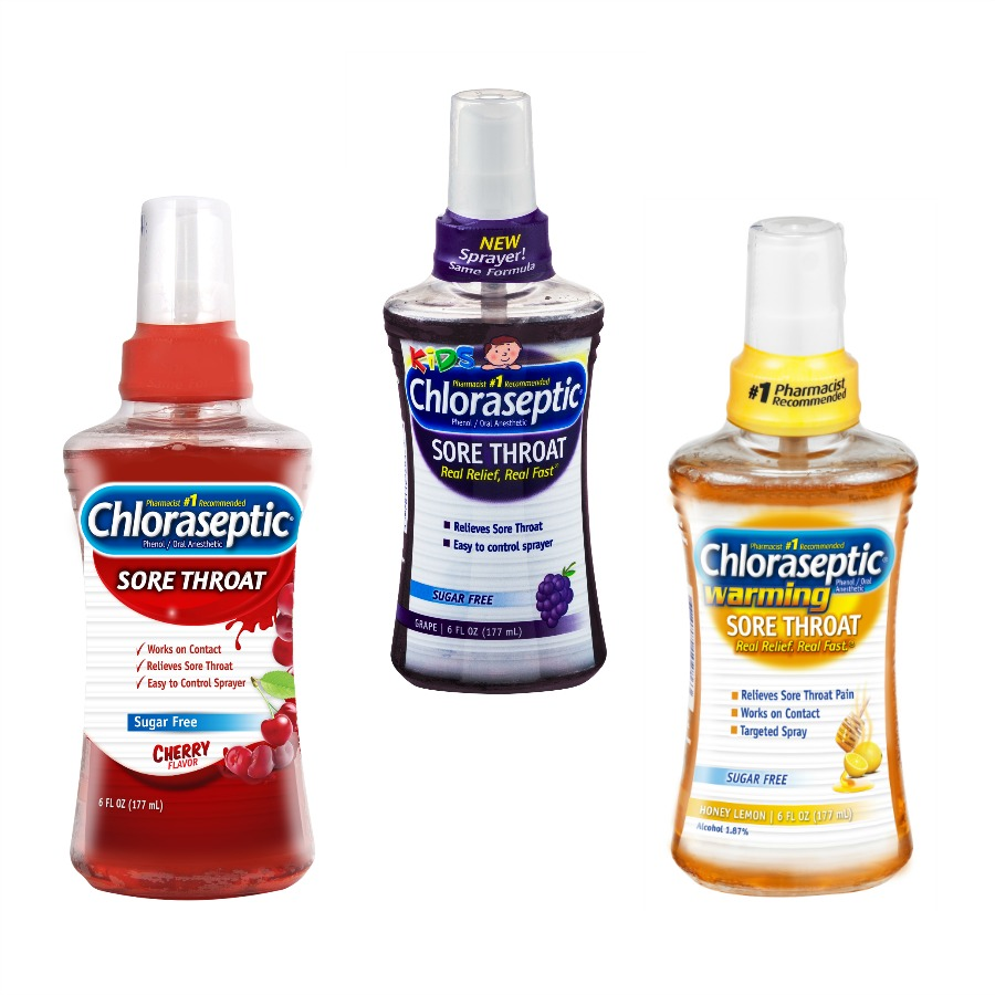 Looking for products to help you & your family combat sore throat pain? See what we think of Chloraseptic's line of sore throat products here!