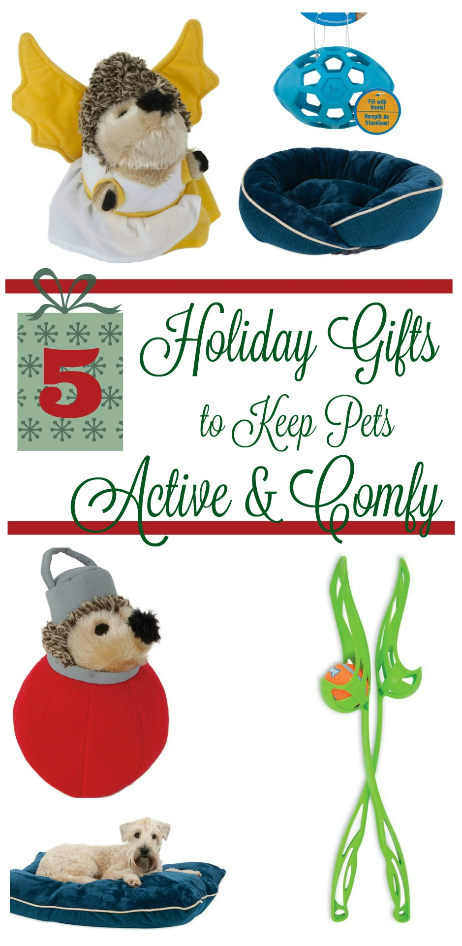 Looking for fun gifts to keep your pets comfy & active during the holidays? Check out our favorite gift ideas from Petmate here!