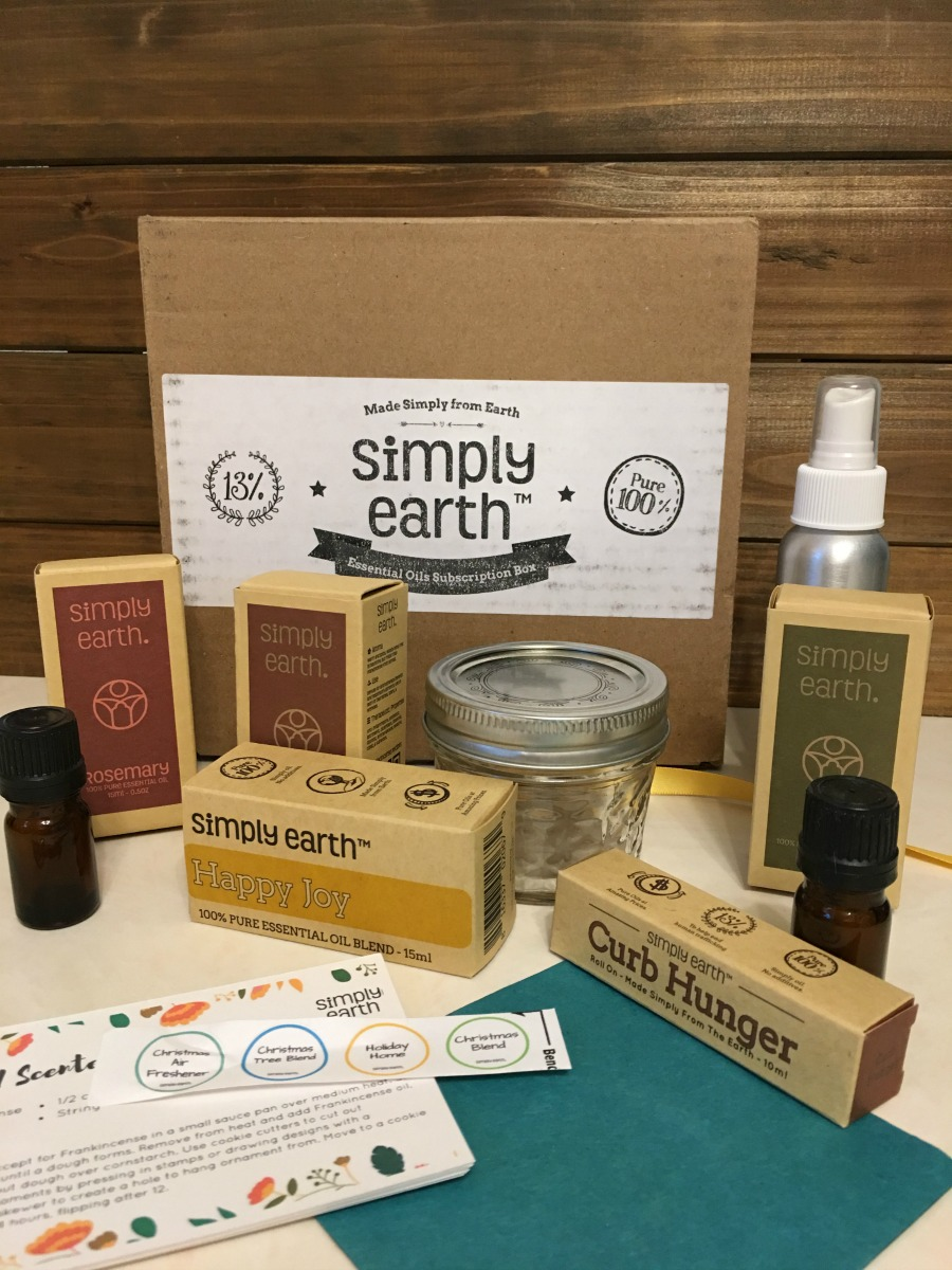 Want to make your home smell amazing for the holidays? See how in our review of the Essential Oil Subscription Box here!
