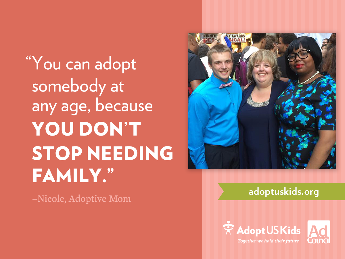 Have you considered adopting? See the benefits of adopting a child of any age here!