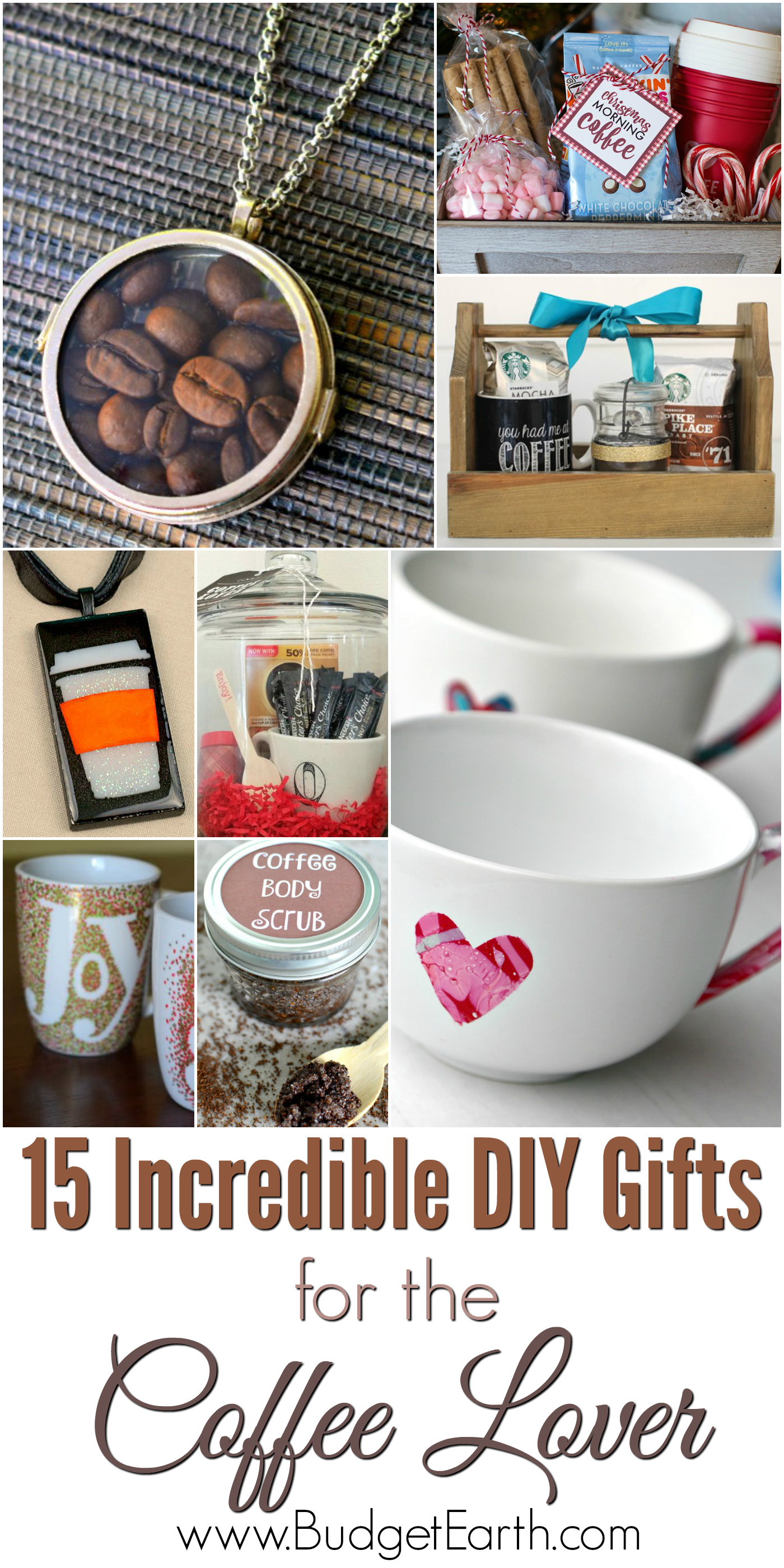 Looking for the perfect gift for someone who loves coffee? Check out our list of 15 Incredible DIY Gifts for the Coffee Lover here!