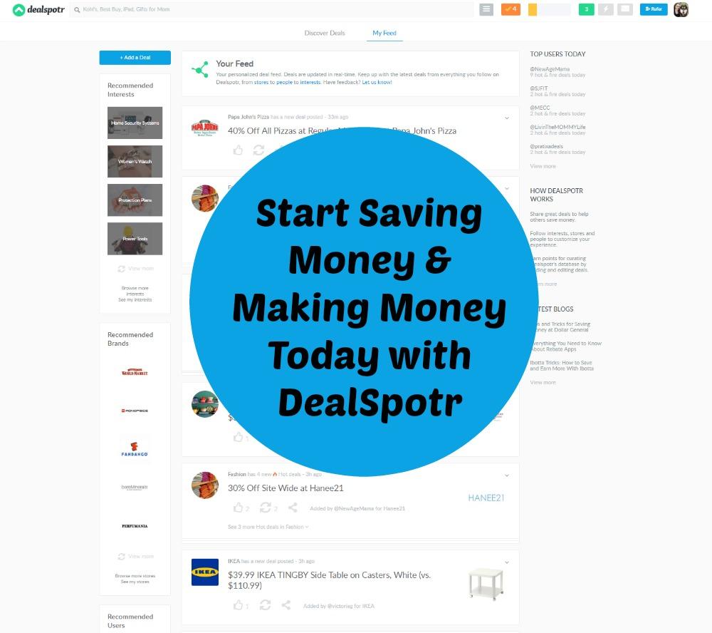 Make Saving Money Easier Profitable With Dealspotr Budget Earth