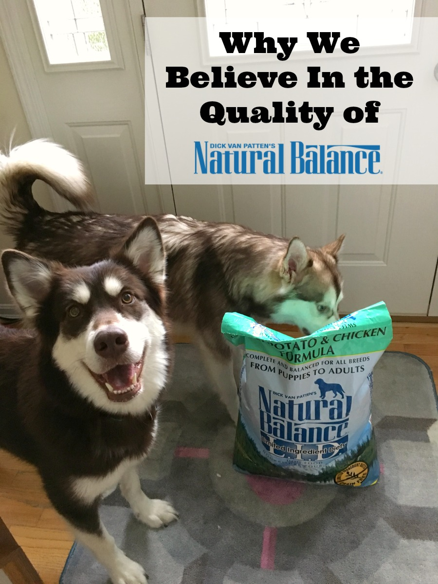 Want to find a high quality food for your dog made from the best natural ingredients? See why we believe in the quality of Natural Balance here!