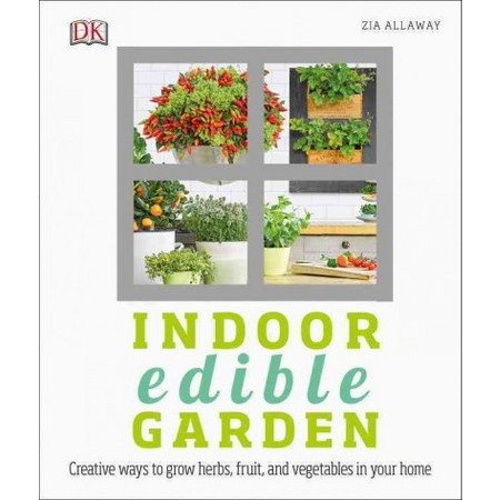 Want an indoor garden at home or apartment? See what we think of Indoor Edible Garden: Creative Ways to Grow Herbs, Fruits, and Vegetables in Your Home here!
