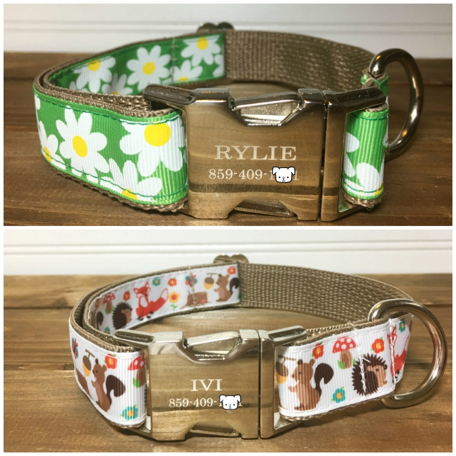 Looking for cute dog collars that are not only handmade but for dogs of all sizes? See what we think of The French Dog's dog collars here!