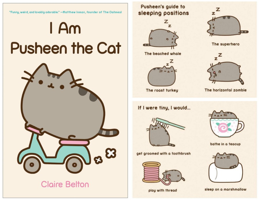 Okay, Not Much Has To Be Said About This Cute Book. While These Pusheen  Comics Donu0027t Move Like The Ones Online, They Will Make Any Pusheen Lover  Aww, ...
