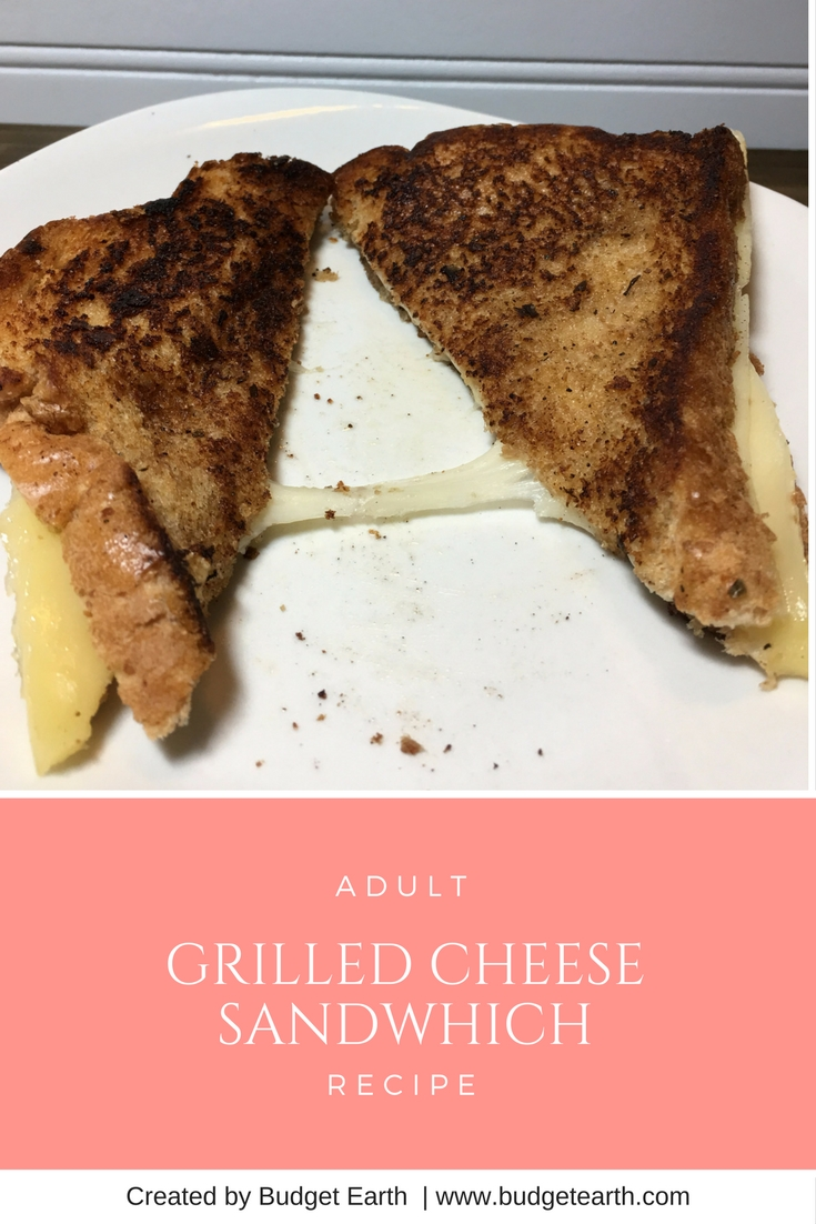 Looking for a yummy grilled cheese sandwich? Check out our adult twist on this classic sandwich for Grilled Cheese Month here!