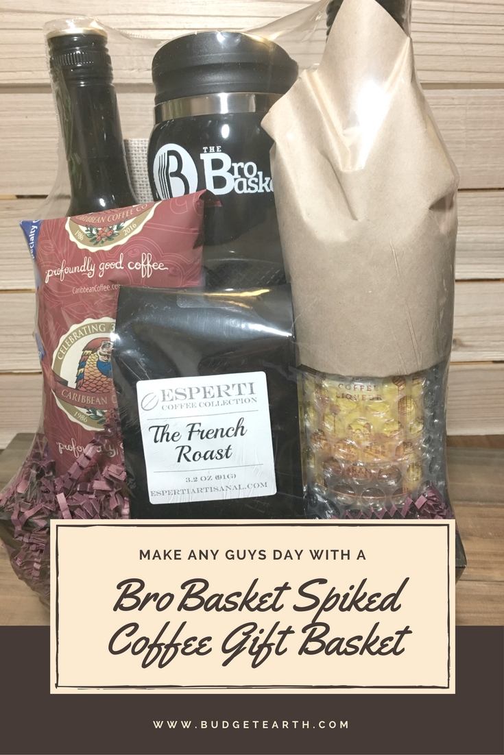 Looking for the perfect gift for a guy in your life? See what we think of the BroBasket Spiked Coffee Gift Basket here!