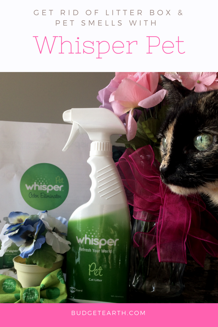 Looking for a way to get rid of pet odors without using perfumes or scary chemicals See what we think of Whisper Pet Odor Eliminator Spray & Cat Litter Spray here!