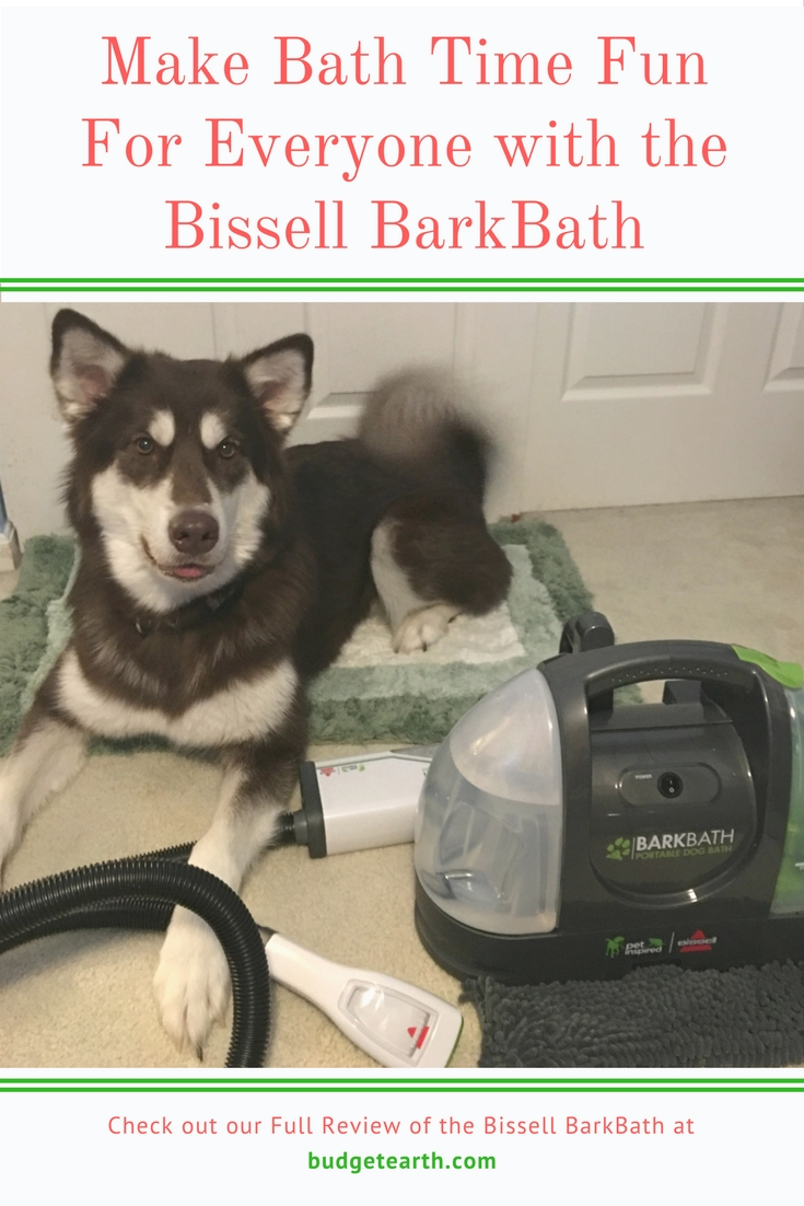 Having trouble bathing your dogs at home? Learn how we have made bath time easier with our two Alaskan Malamute with the Bissell Barkbath here!