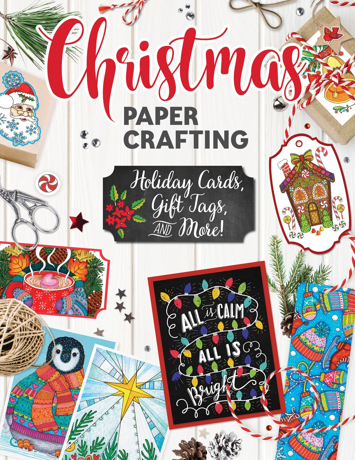 Looking for a book filled with fun Christmas Crafts? See what we think of Christmas Papercrafting: Holiday Cards, Gift Tags, and More here!