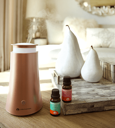 Do you love essential oils & aromatherapy? See what we think of the GuruNanda RoseGold Tower Oil Diffuser here!