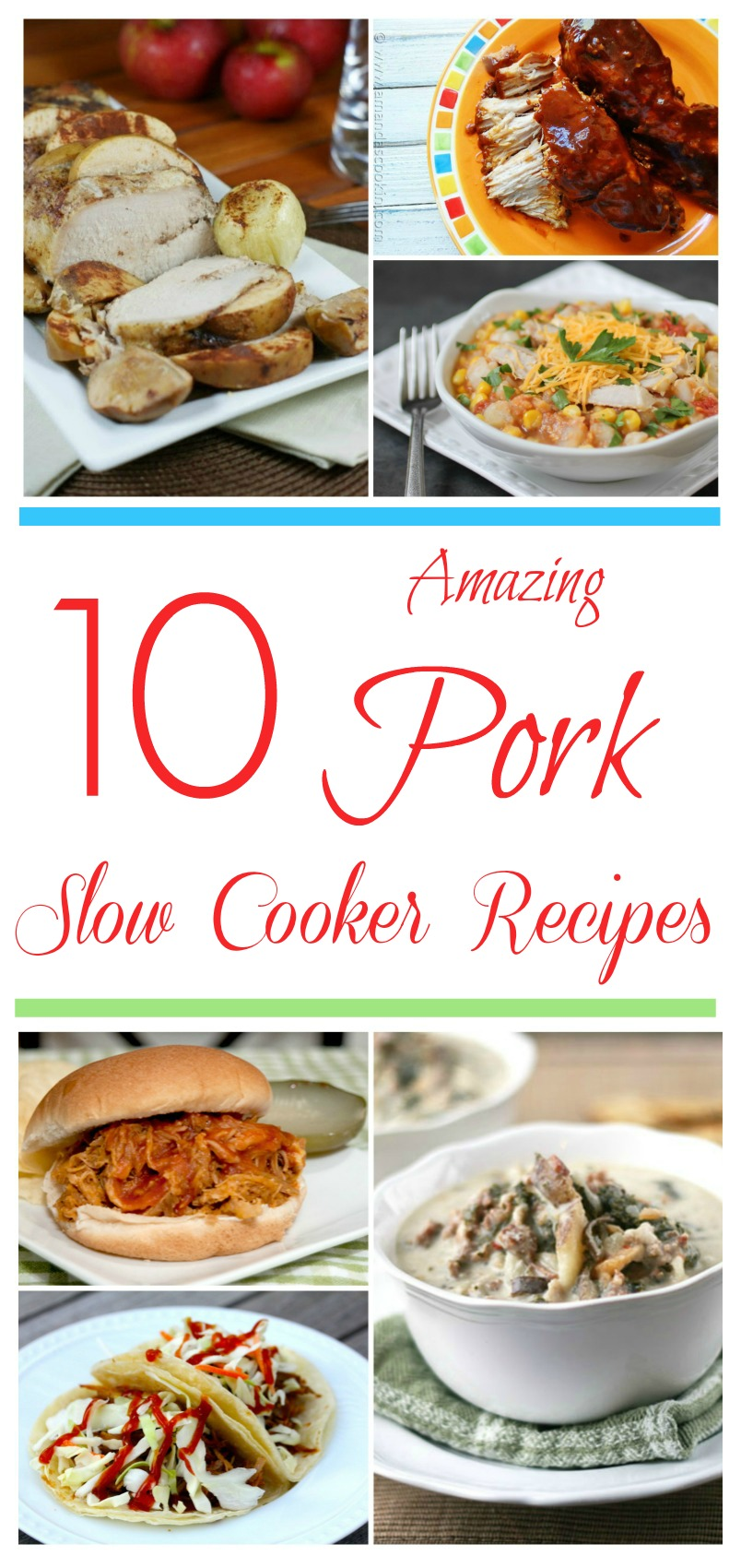Looking for delicious pork recipes for your slow cooker? Check out these 10 Amazing Pork Slow Cooker Recipes that are perfect for any family!