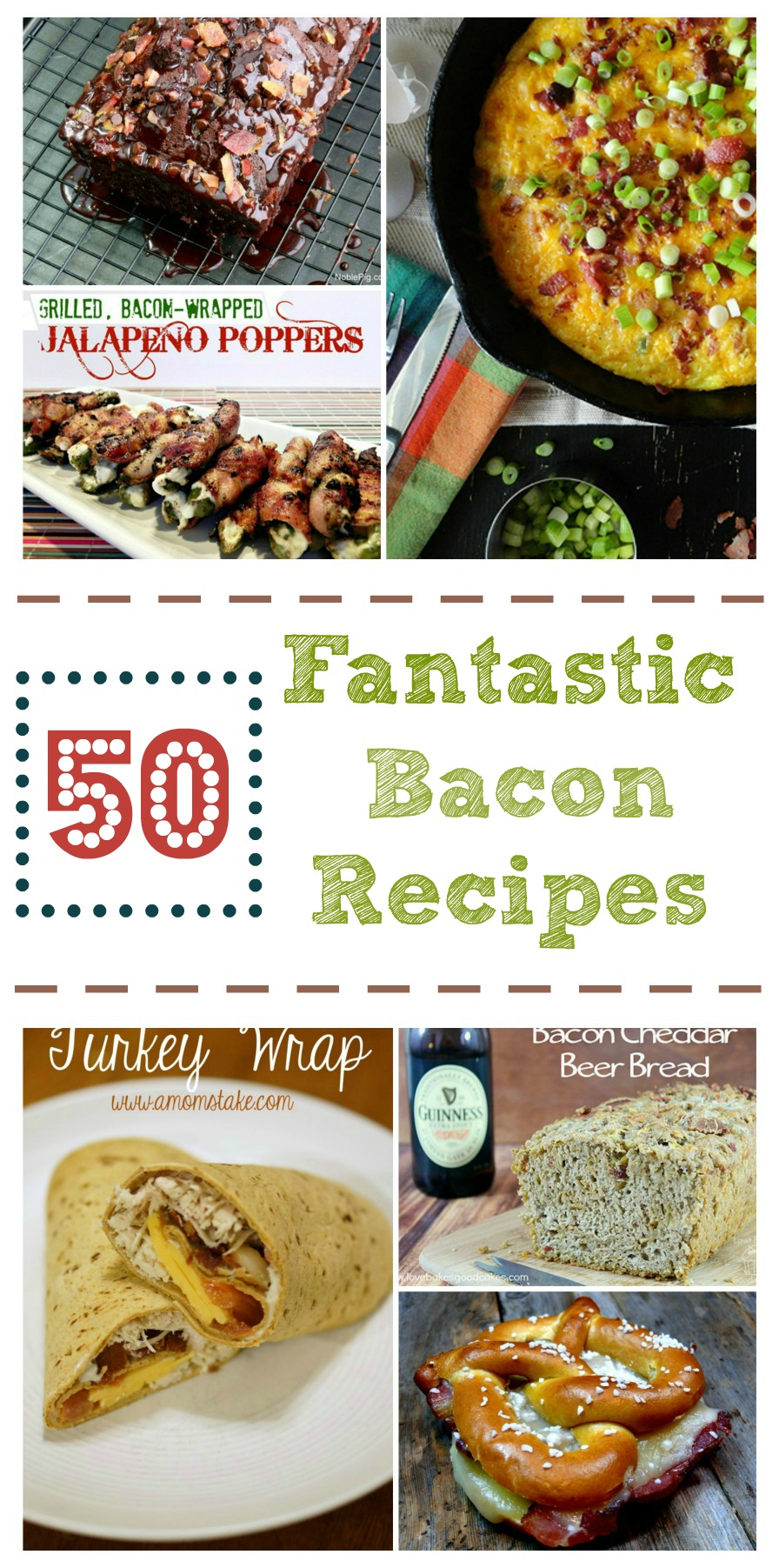 Love bacon? Make sure to check out our 50 Fantastic Bacon Recipes Round Up here!