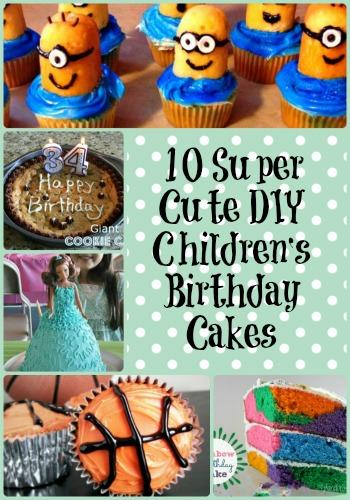 10 super cute diy children s birthday cakes budget earth