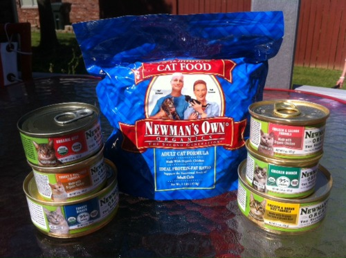 Newman's Own Organic Cat Food Review